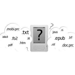 Форматы электронных книг.