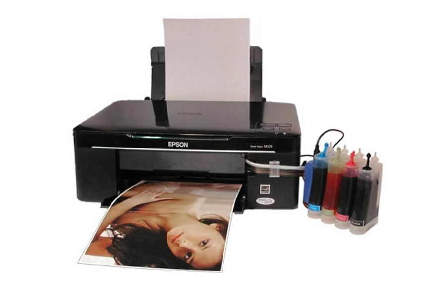 Фотографии на принтере с СНПЧ.
