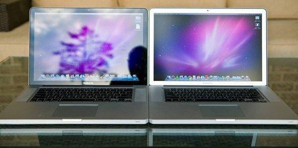 Сравнение глянцевых и матовых экранов.