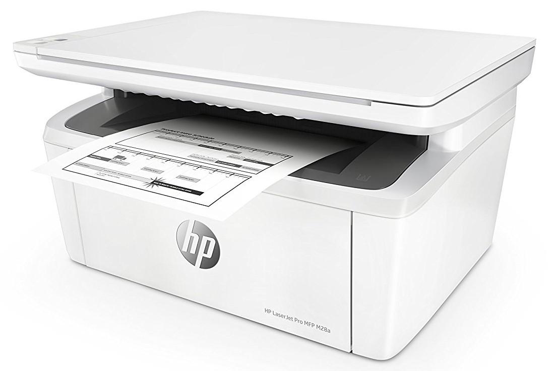 HP LaserJet Pro MFP M28a.