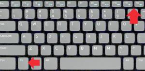 Клавиши 1