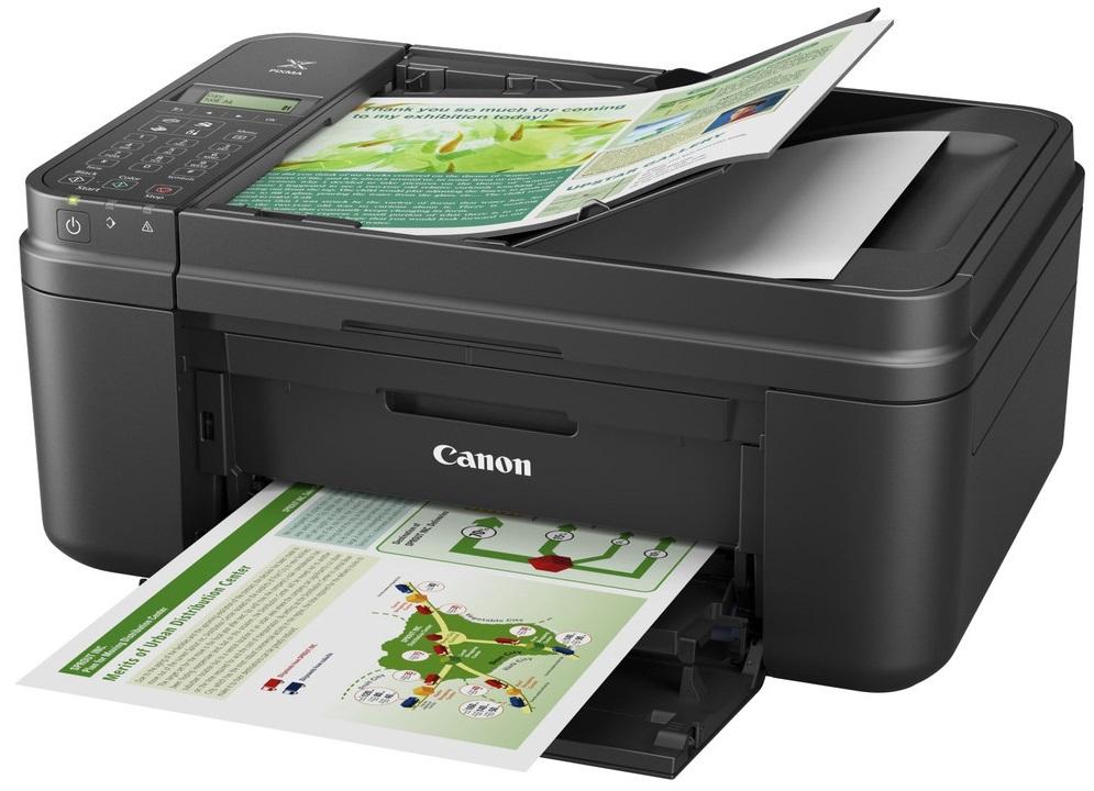 МФУ сочетает в себе функции сканера, принтера и копировального аппарата.