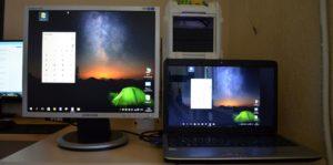 можно ли использовать ноутбук как монитор