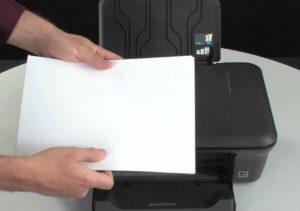 Бумага и принтер.