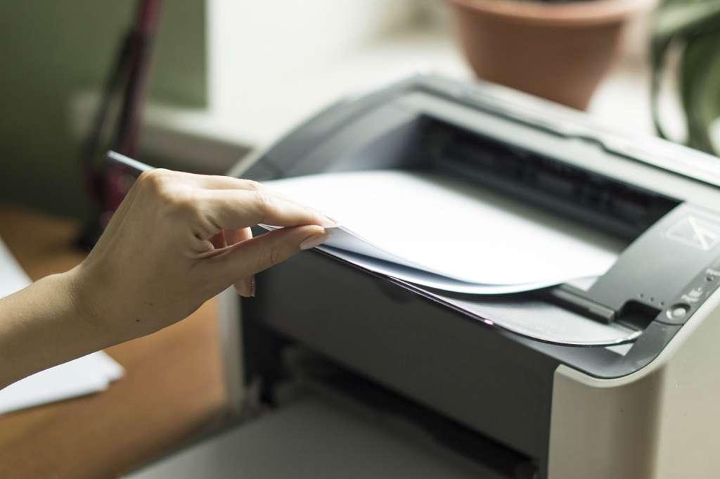 Принтер не печатает.