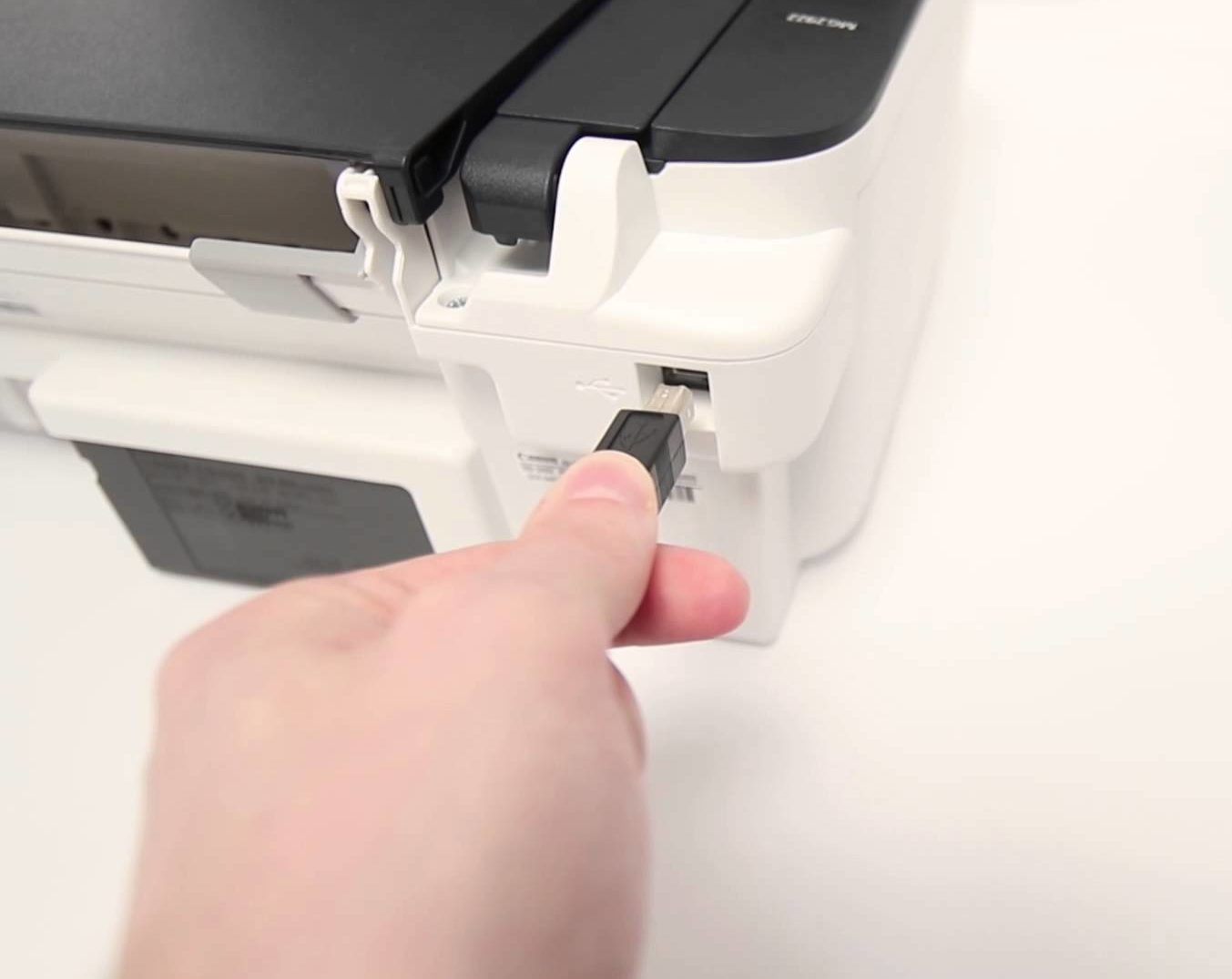 Проверка кабеля принтера.