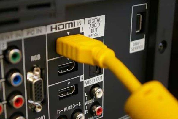 Разъём HDMI.