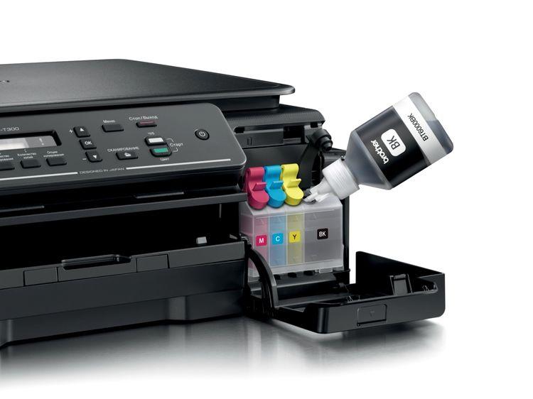 Заправка принтера.