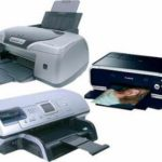 Модели струйных принтеров.