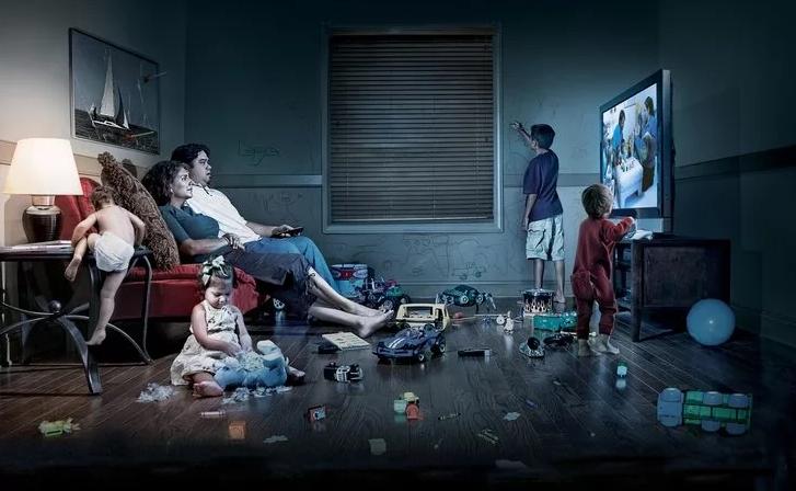 зомби семья -просмотр ТВ