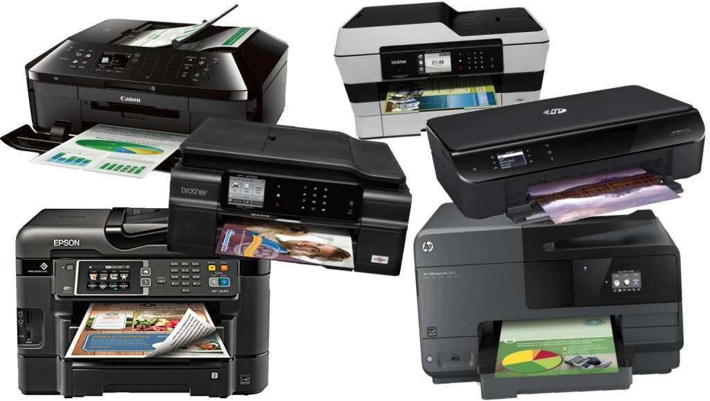 Разновидности струйных принтеров.