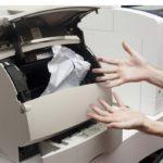 принтер жуёт бумагу