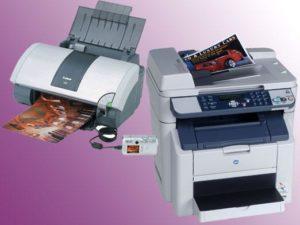 разница между мфу и принтером