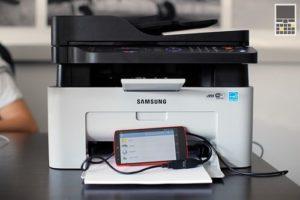 как подсоединить к принтеру