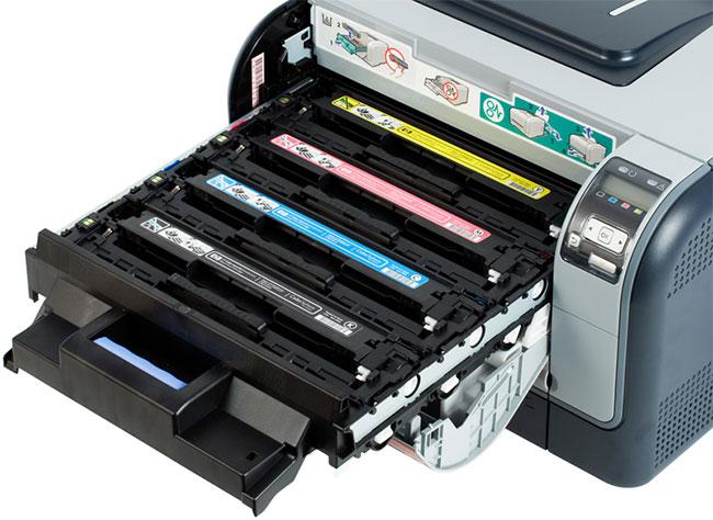 картридж в принтере