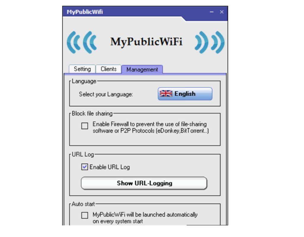Запуск MyPublicWiFi.