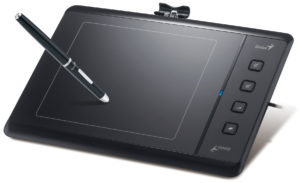 настроенный планшет