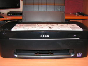 принтер с настройками