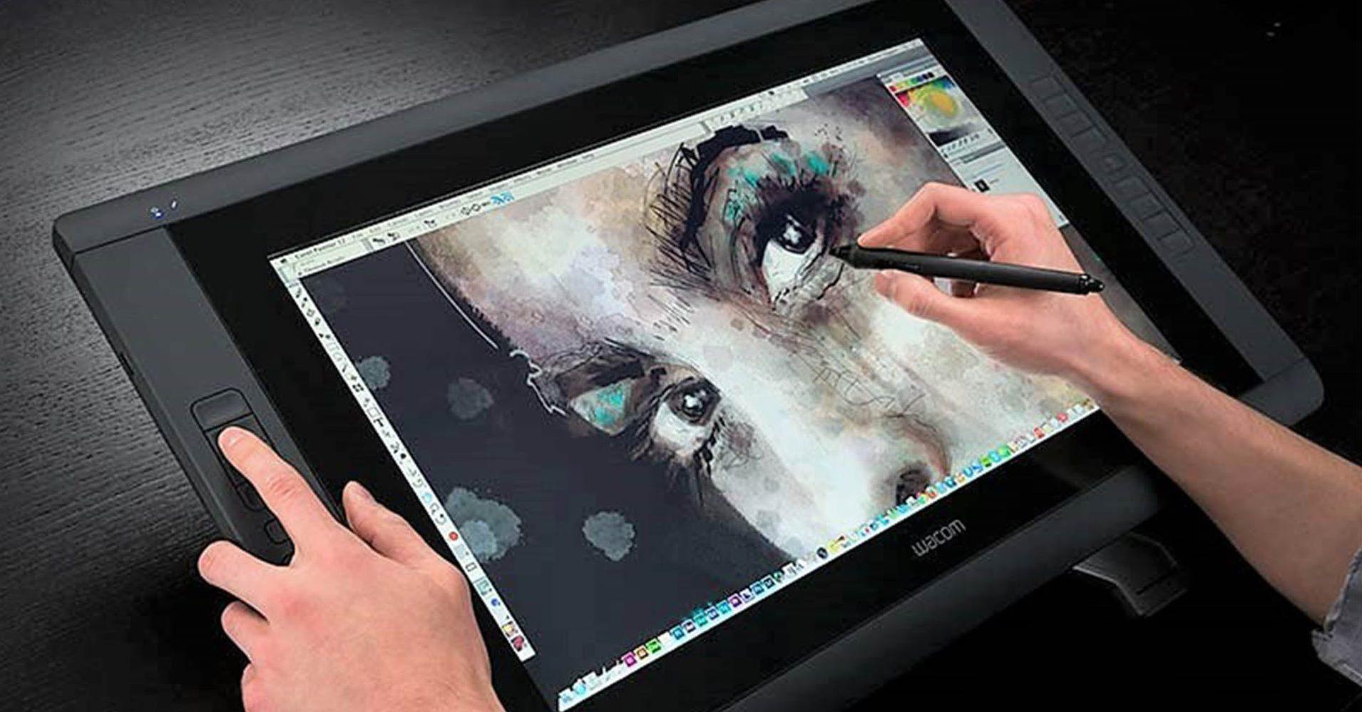 профессиональное рисование на планшете