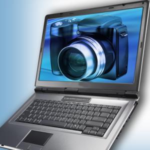 видеокамера на ноутбуке