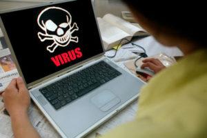 Признаки вирусов на ноутбуке