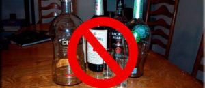 Почему нельзя оставлять пустые бутылки на столе