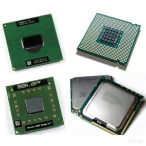 Процессоры для ноутбука.