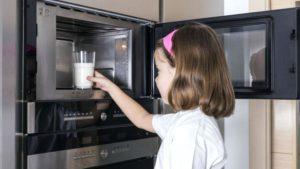 микроволновая печь и детское питание