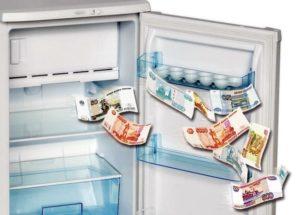 Зачем в холодильник кладут мелочь