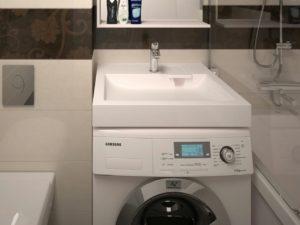 Умывальник над стиральной машиной: плюсы и минусы