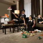 Housekeepers-at-hotel-room