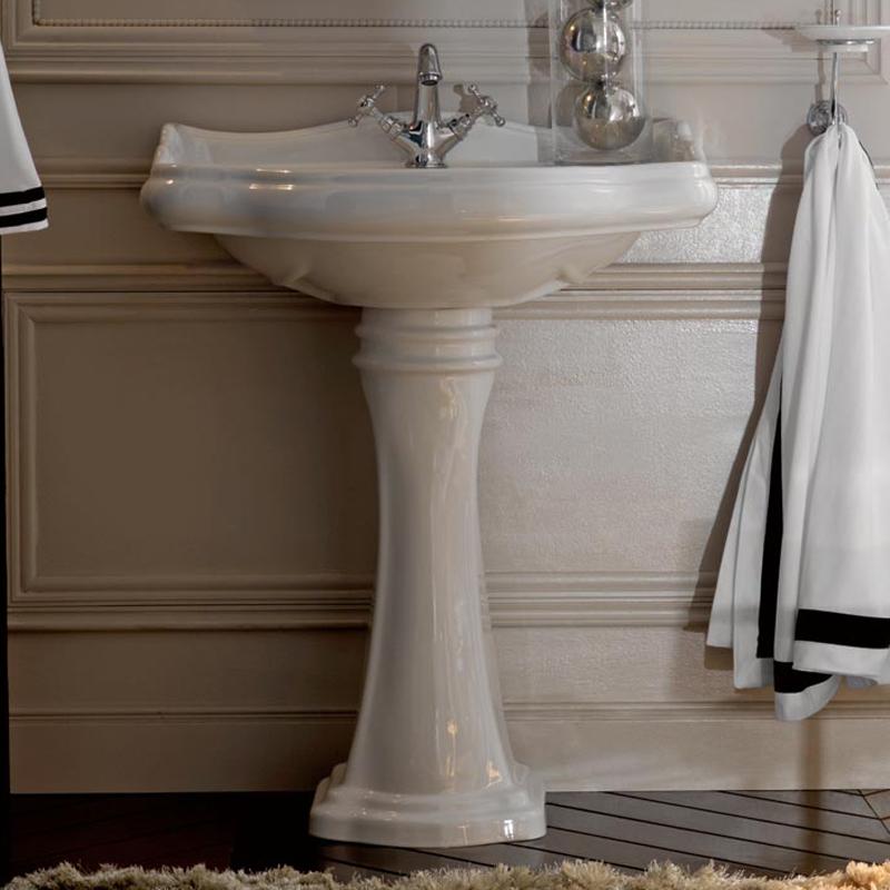 раковина тюльпан в ванную.