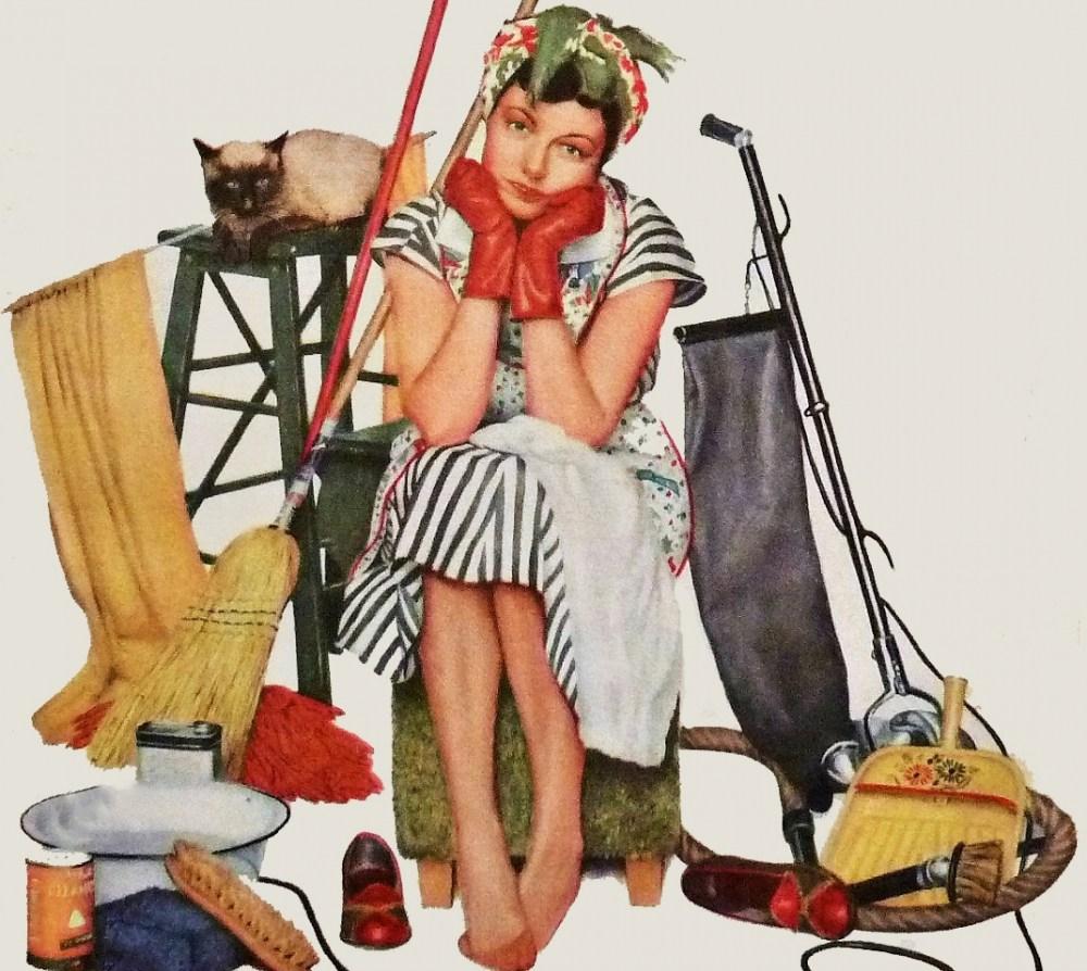 6 оригинальных подходов к уборке, которая надоела