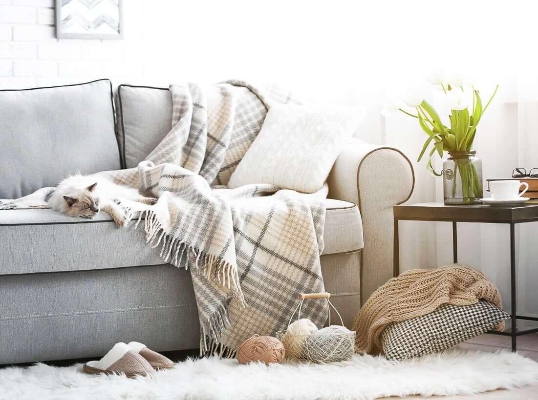 домашний текстиль для тепла