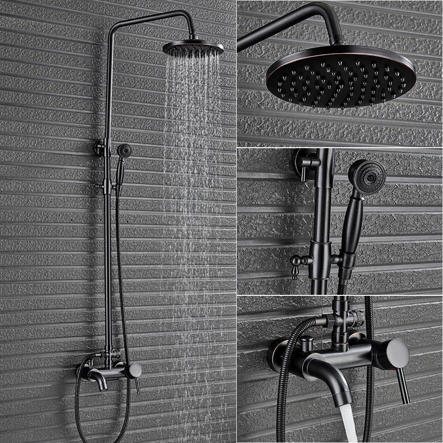 Смеситель для ванной с тропическим ливнем
