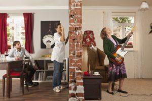 Что предпринять, чтоб не слышать соседей?