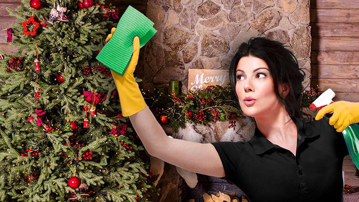 Как убрать квартиру перед Новым годом
