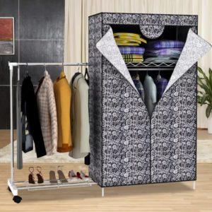 Тканевый шкаф: плюсы и минусы