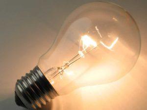 Обычная лампа накаливания.