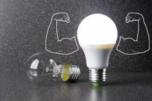 Лампа счетодиодная энергосберегающая.