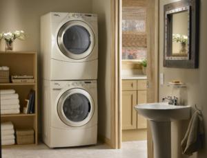 Можно ли ставить на стиральную машину тяжёлые вещи