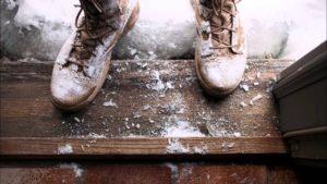 Как зимой без труда поддерживать чистоту в прихожей