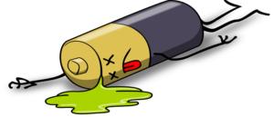 Как оживить батарейку