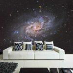 космический стиль в интерьере квартиры