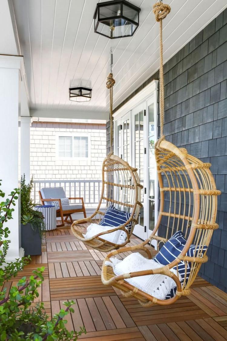 отделка потолка балкона или лоджии