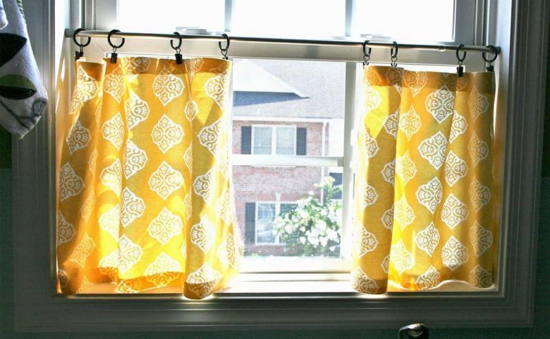 шторы для кухни в стиле эклектика