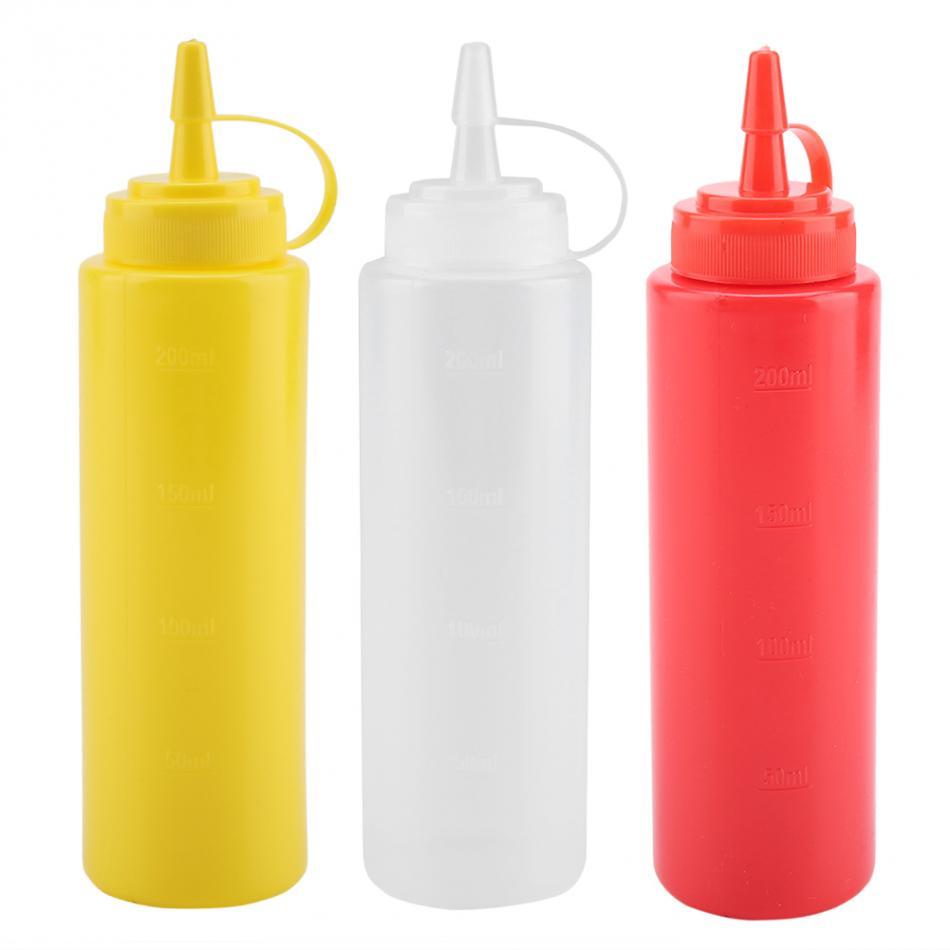 Бутылочки для соусов или масла