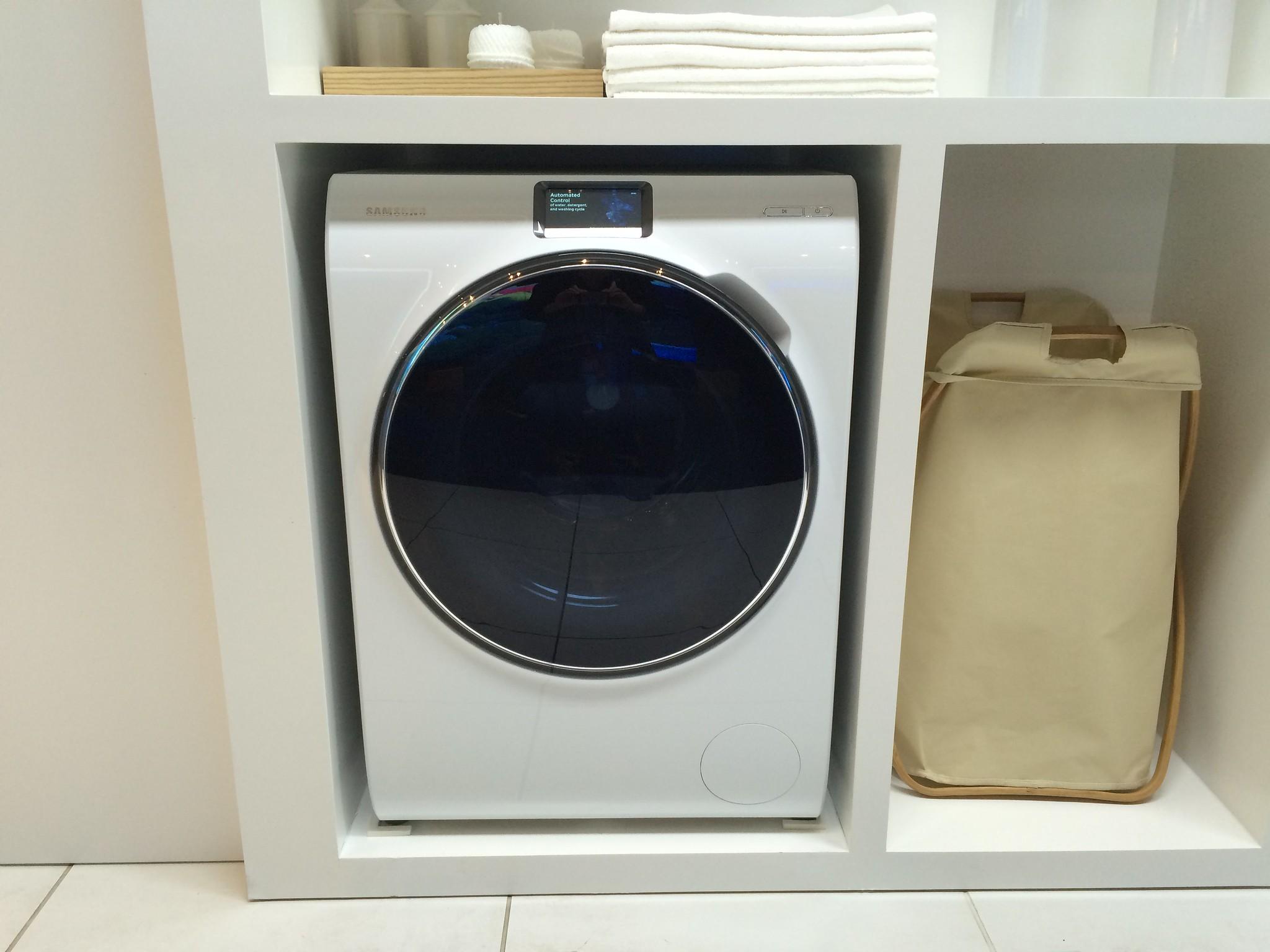 Новая стиральная машина от Samsung