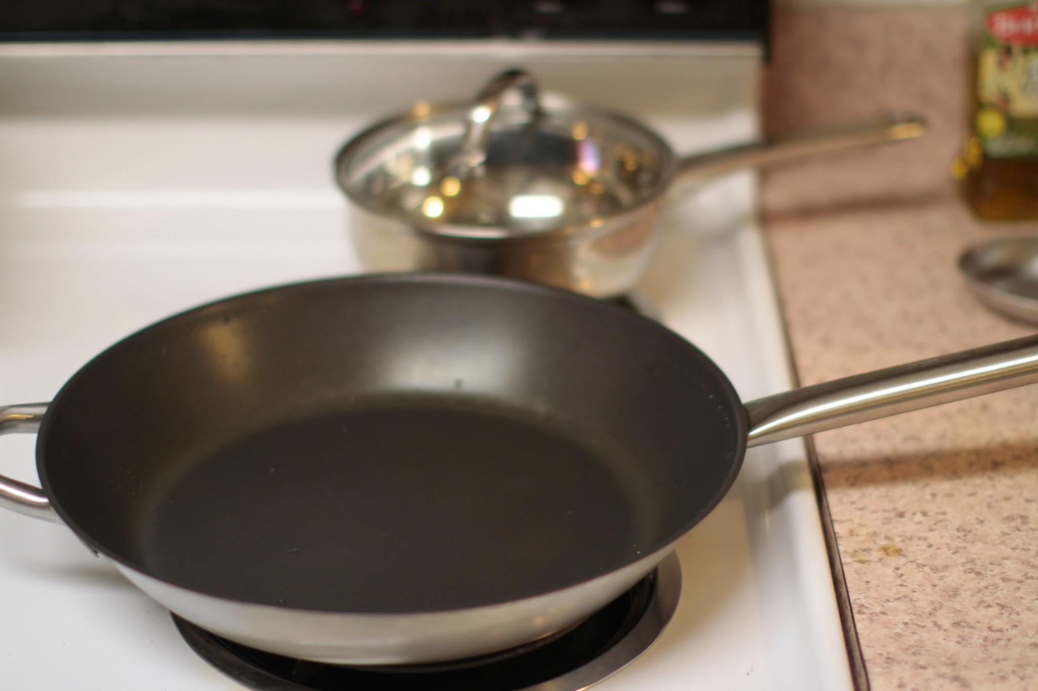 Обычная сковорода