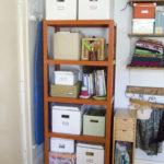 Отсортированная и организованная полочка